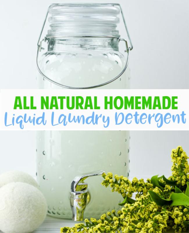 Homemade Liquid Laundry Detergent Pinterst - Best laundry detergent