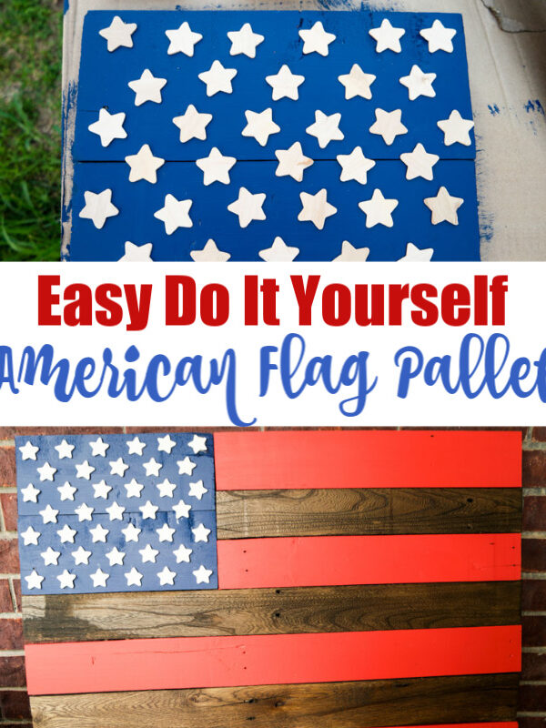 DIY American Flag Pallet Project