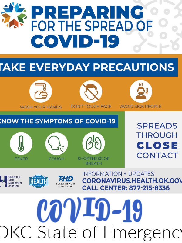 COVID-19 – Mayor Declares State of Emergency for Oklahoma City