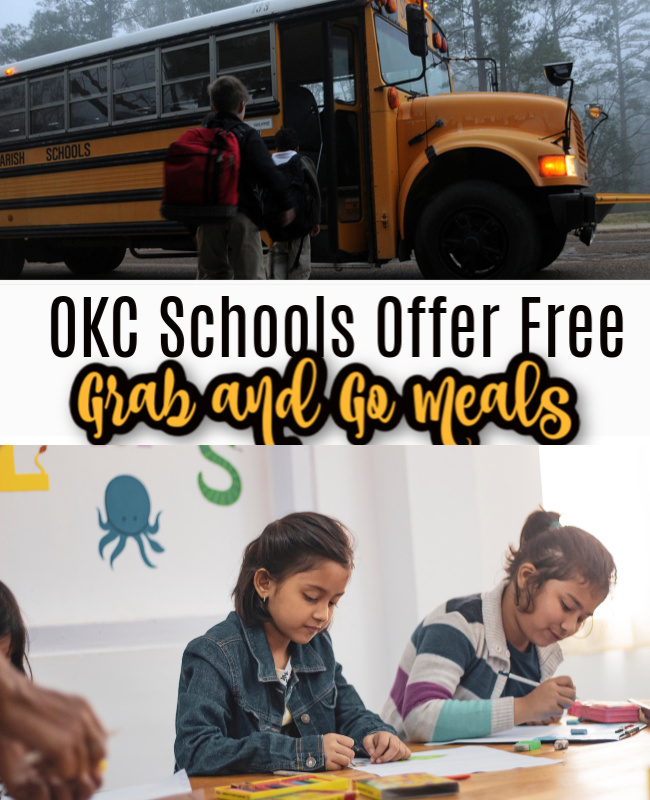 Oklahoma City Schools Offer Free Grab and Go Meals