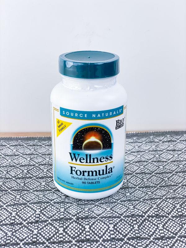 Source Naturals Wellness Formula Supplement