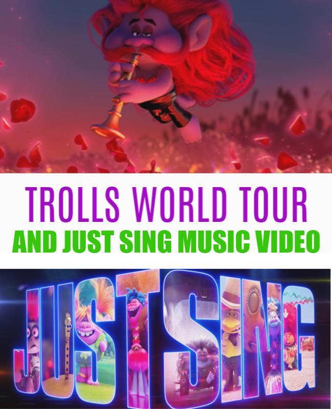 "TROLLS WORLD TOUR -Just Sing"" Music Video"
