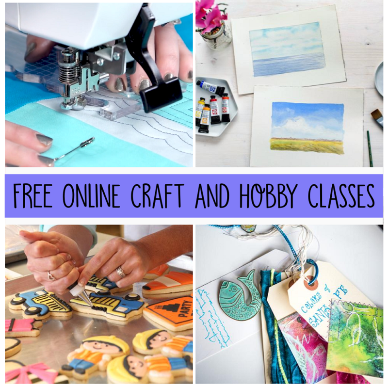 free online craft classes
