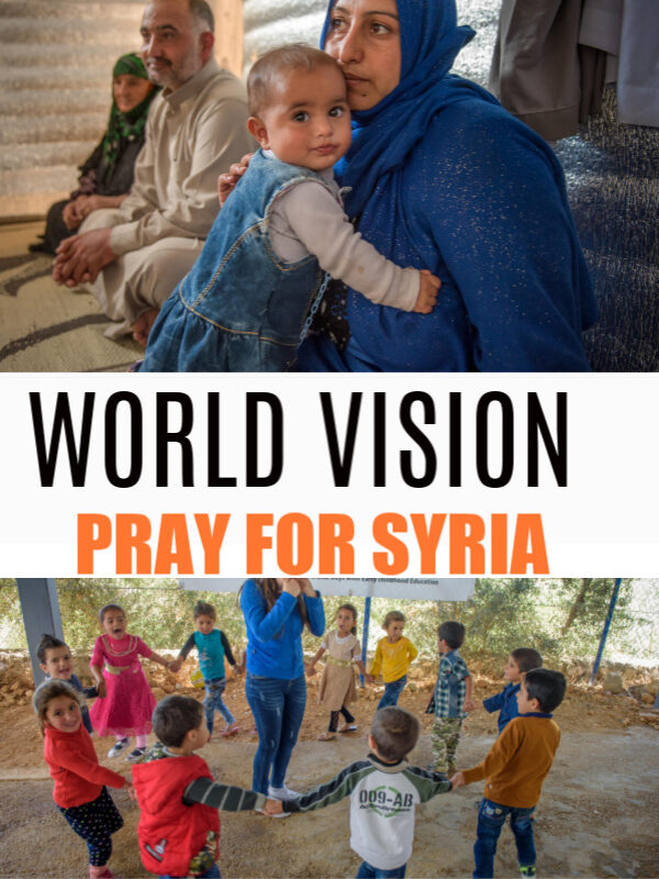 World Vision: Pray For Syria