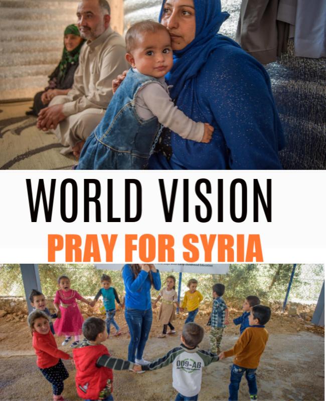 World Vision: Pray For Syria