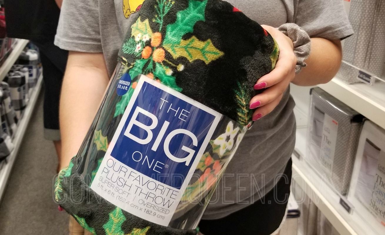 The Big One Supersoft Christmas Throws ONLY $6.30 – Ships Free (Today Only) *EXPIRED*