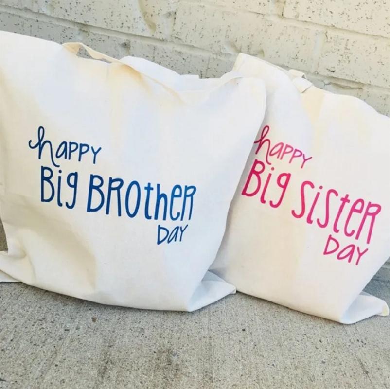 big sibling hospital bags