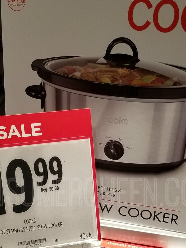 cooks 6 quart slow cooker