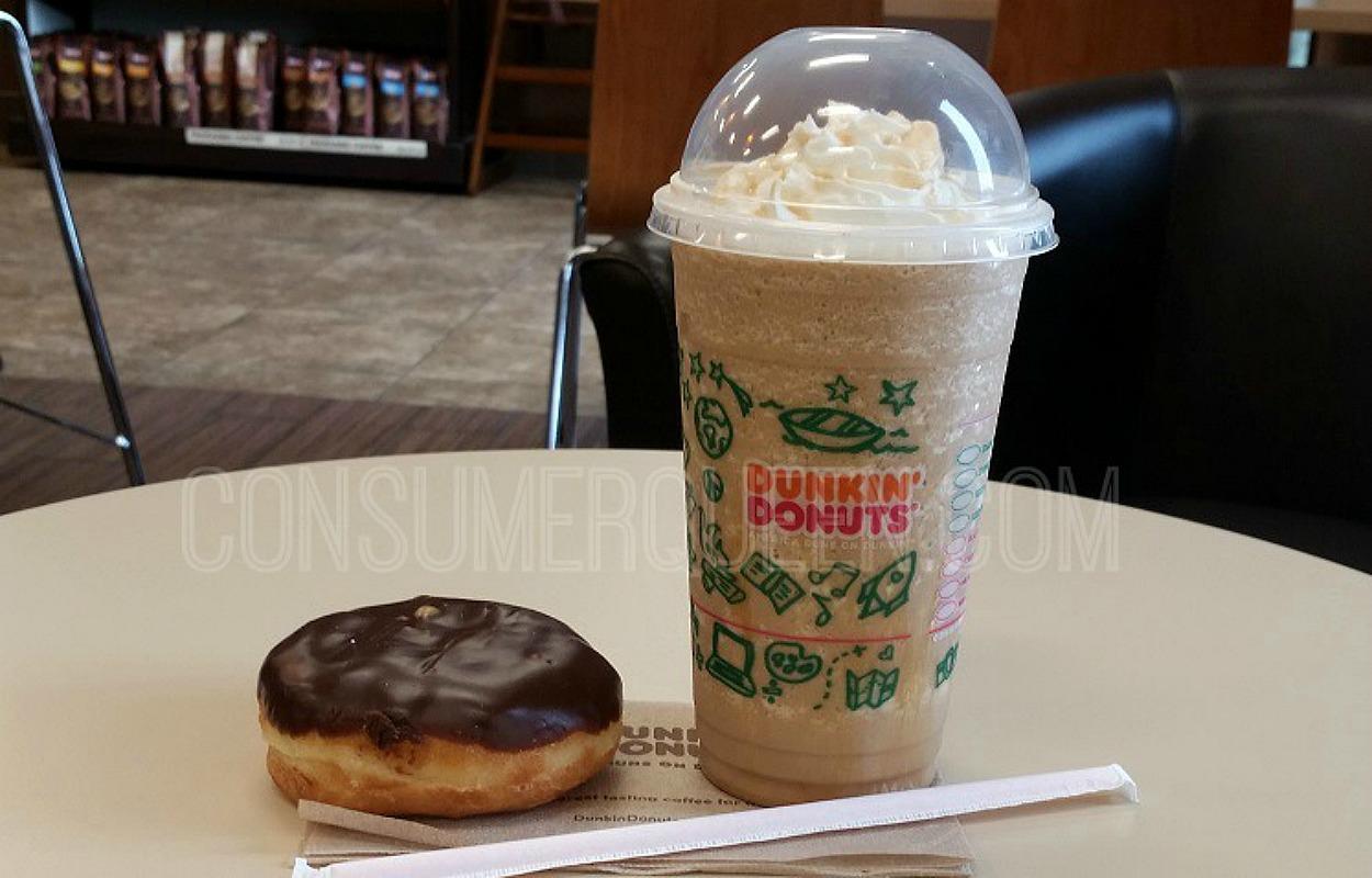 free donut at dunkin'