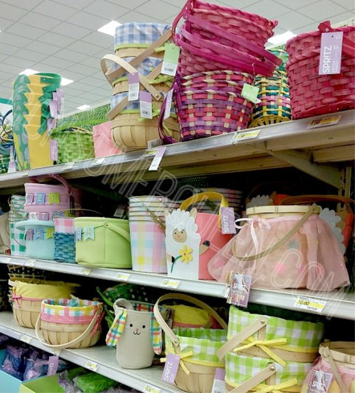target Easter Baskets