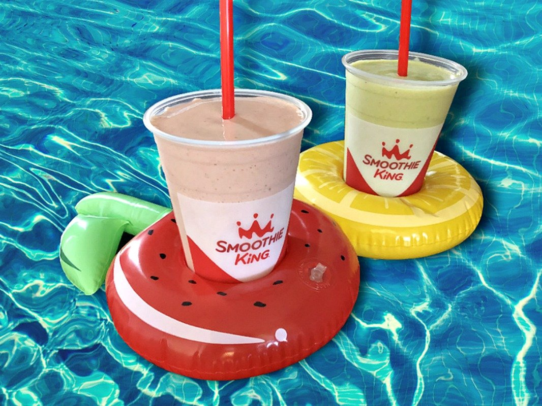 FREE Metabolism Boost Smoothie at Smoothie King (Just Bring a Pool Float!) *EXPIRED*