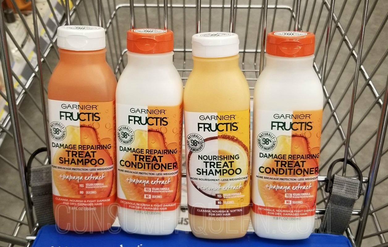 garnier fructis treat hair care