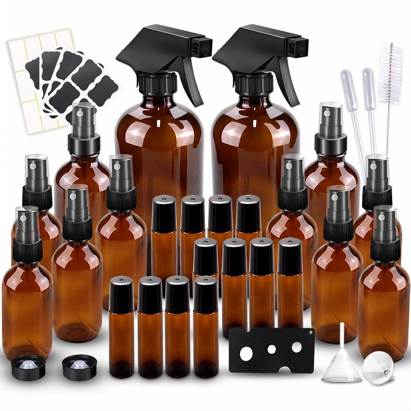 Glass Spray Bottle Kit – 72 Piece Set ONLY $29.99 + FREE Shipping!