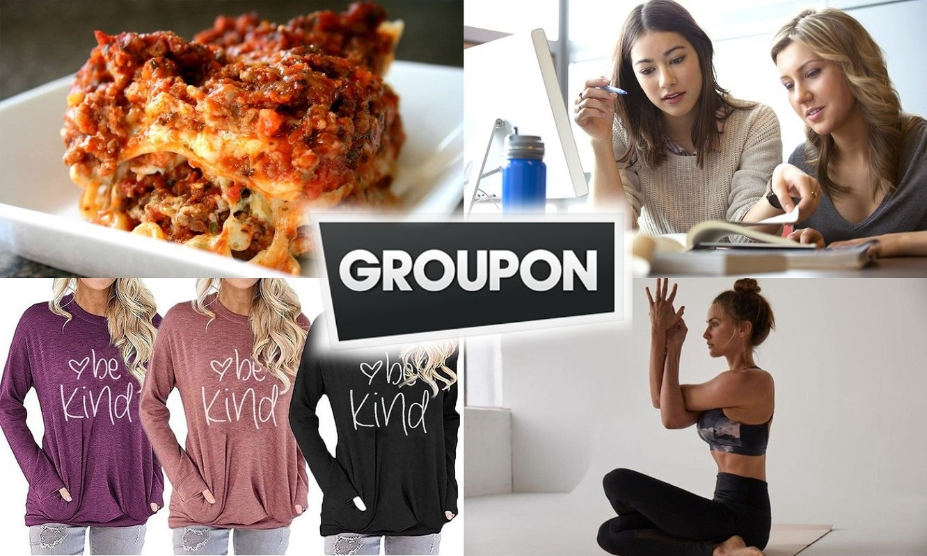 Savings From Groupon – 25% Off  Restaurants, Online Fitness, Apparel, & More!