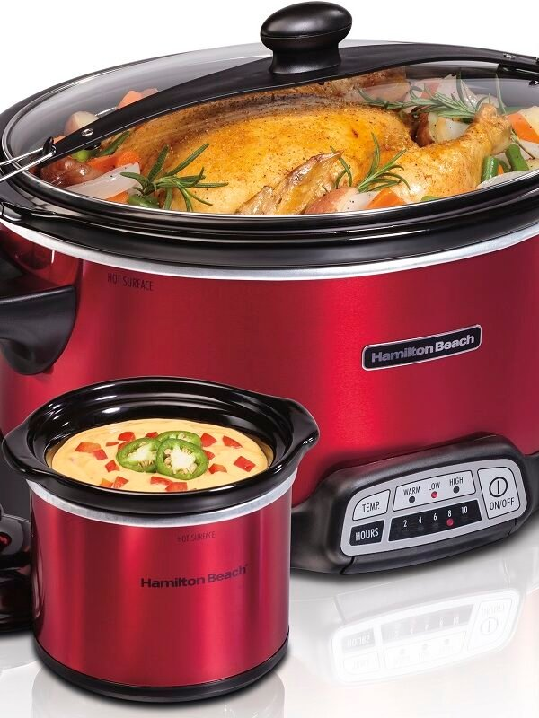 Hamilton Beach 7 Quart Slow Cooker + Party Dipper $34.99 (Reg. $52.99!)