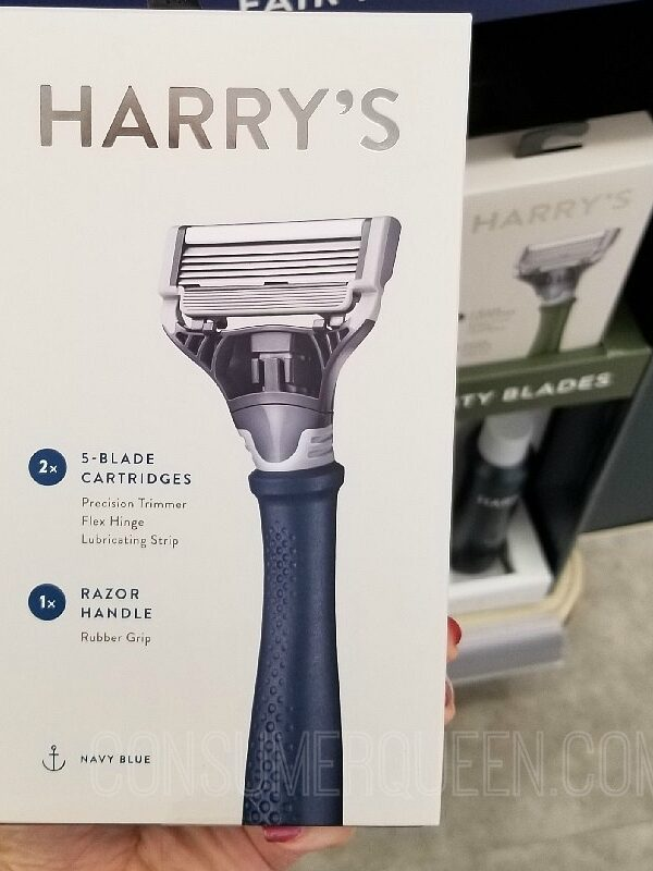 Harry's 5 Blade Razor + Handle & Shave Gel FREE – Just Pay $3 Shipping!
