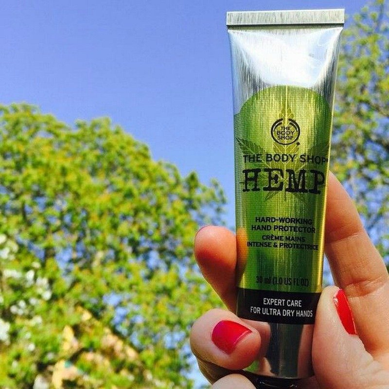 FREE Hemp Hand Protector From The Body Shop!