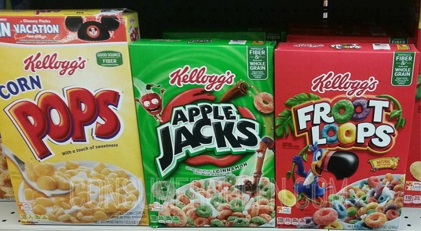 Kelloggs Cereals at Target