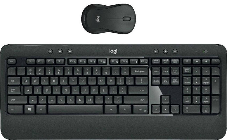 Logitech Wireless Advanced Keyboard & Mouse JUST $31.99 – Ships Free (Reg. $60) *EXPIRED*