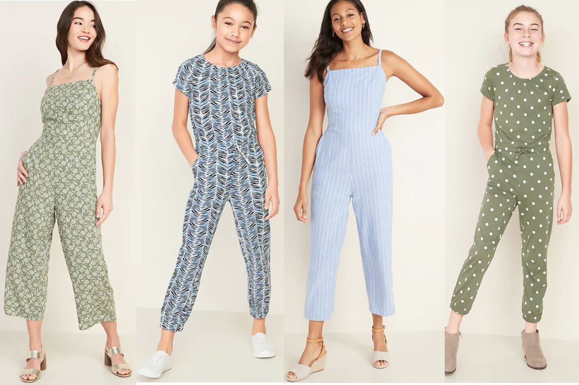 Old Navy Jumpsuits for Women & Girls $12 -$15 (Today Only) *EXPIRED*
