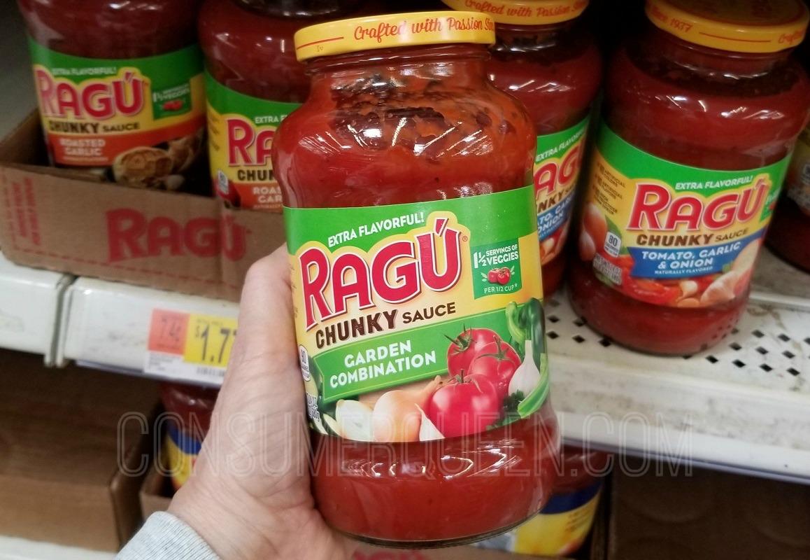 Ragu Pasta Sauce Only 52¢ at Walmart