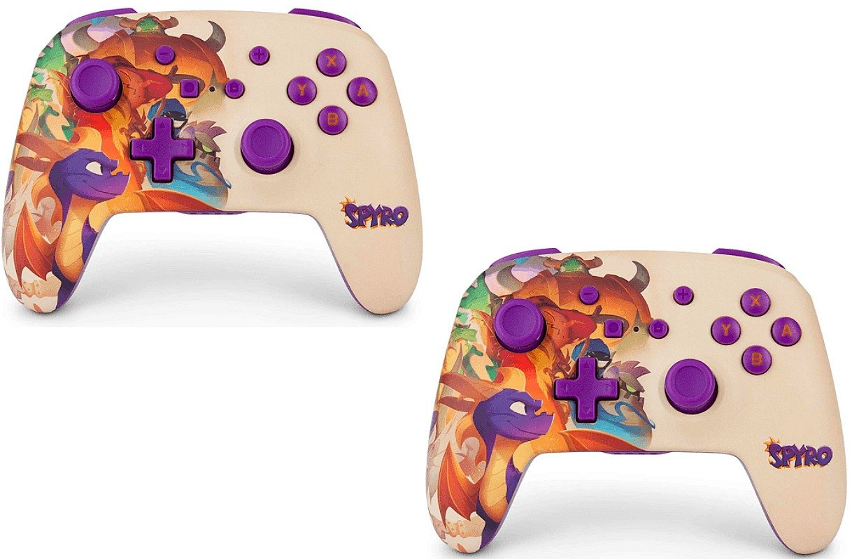 Spyro Nintendo Switch Wireless Controller ONLY $27 – Ships Free (Regularly $50!) *EXPIRED*