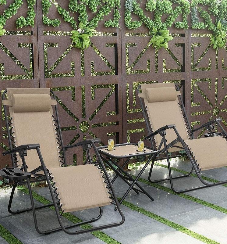 Zero Gravity Lounge Chairs 2 for $70.99 – Shipped ($35.50 Each) Reg. $106!