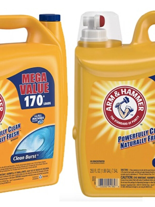 3 count Arm & Hammer detergent