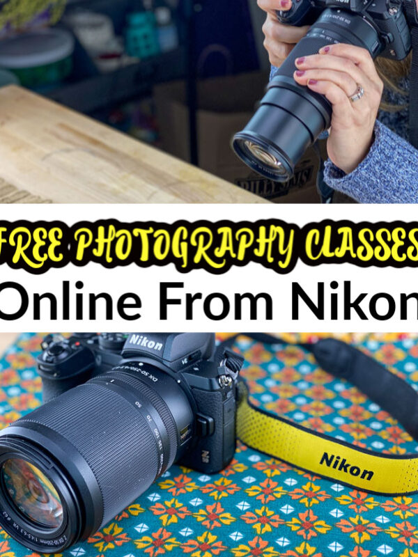 FREE Online Photography Classes Through April From Nikon!
