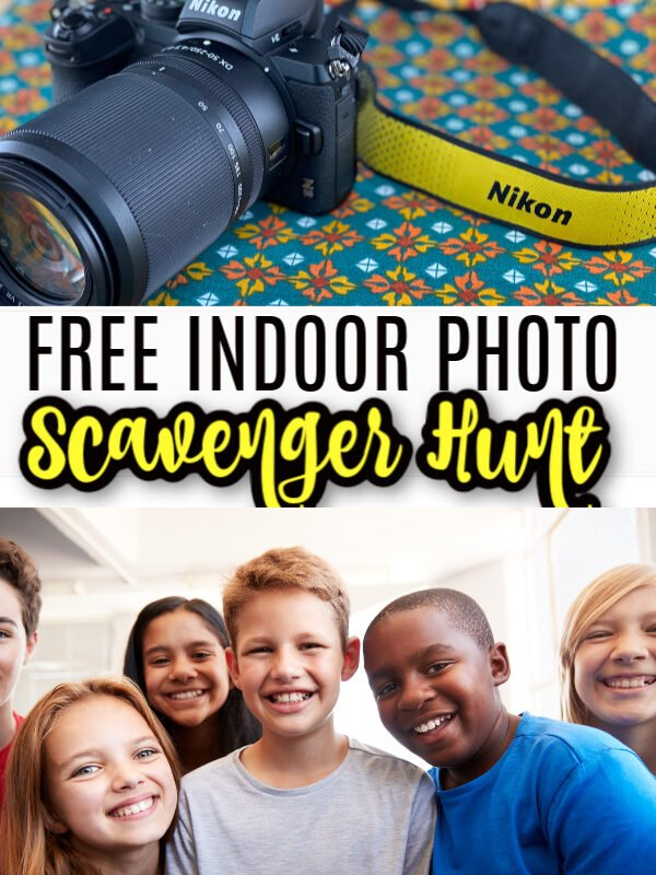 Free Kids Scavenger Hunt Printable