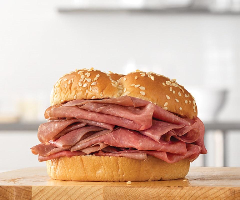 arbys classic roast beef sandwiches