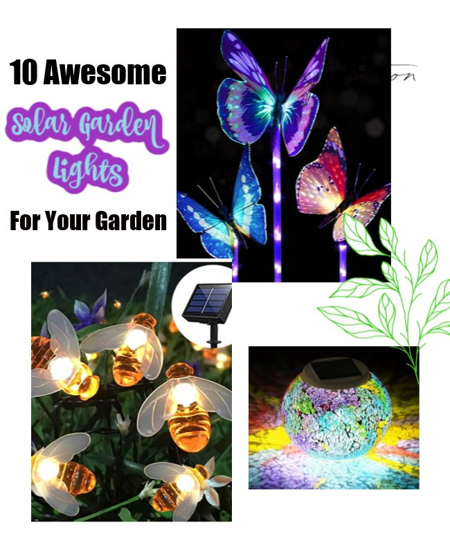 10 Awesome Solar Garden Lights You Need this Summer!