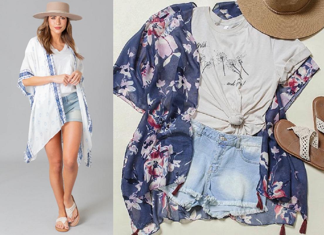 BOGO Free Kimonos + FREE Shipping (as Low as $12.48 Each!)