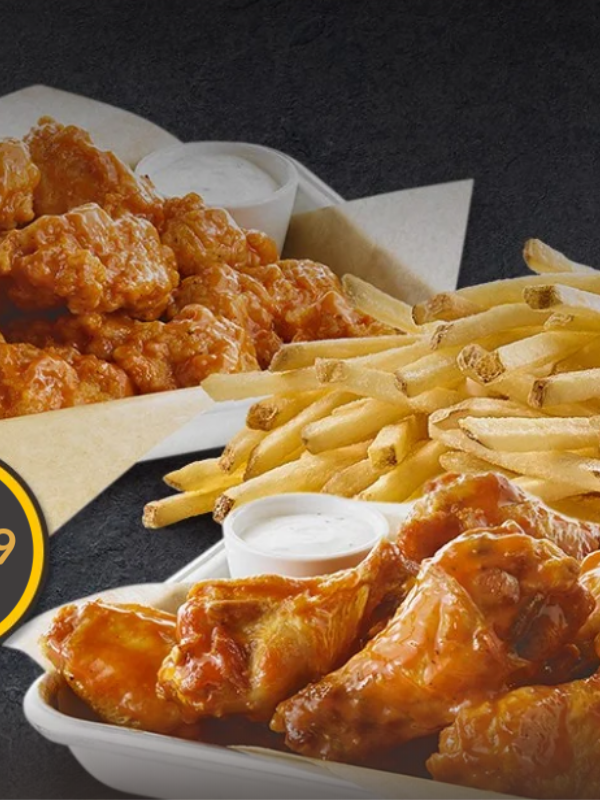 buffalo wild wings family bundle