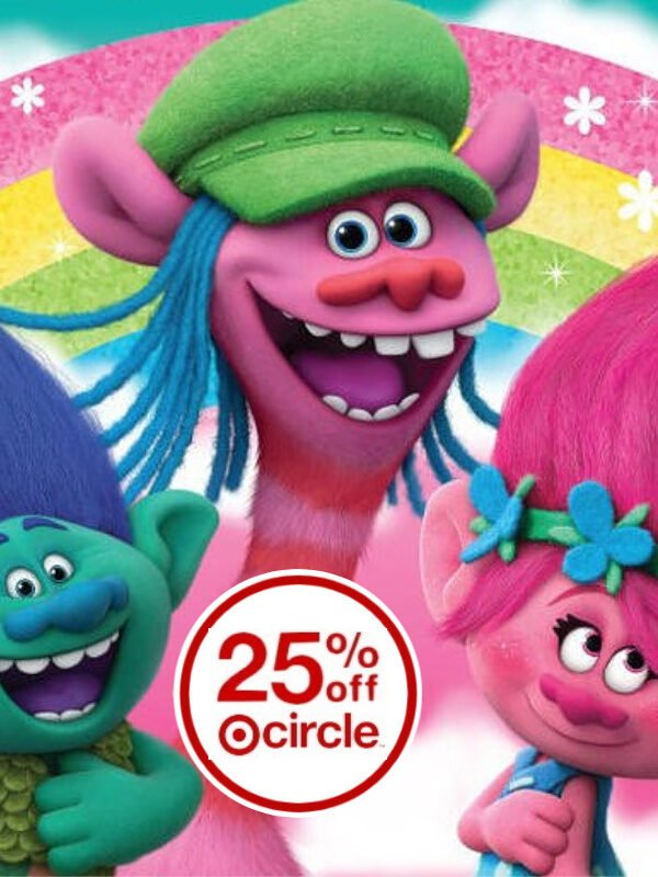 DreamWorks Trolls 25% Off at Target (Prices Start at $2.24) – Drive Up! *EXPIRED*