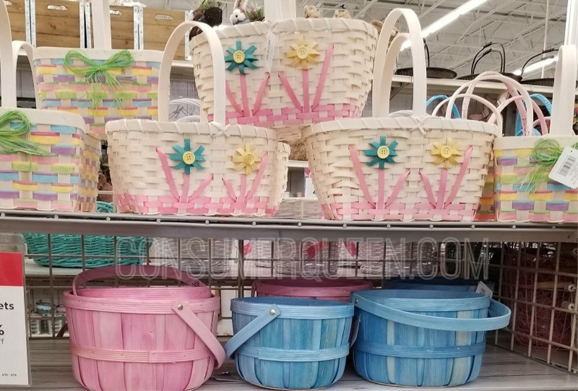 Easter Baskets 60% Off + MORE at Michael's Online – FREE Curbside Pickup!