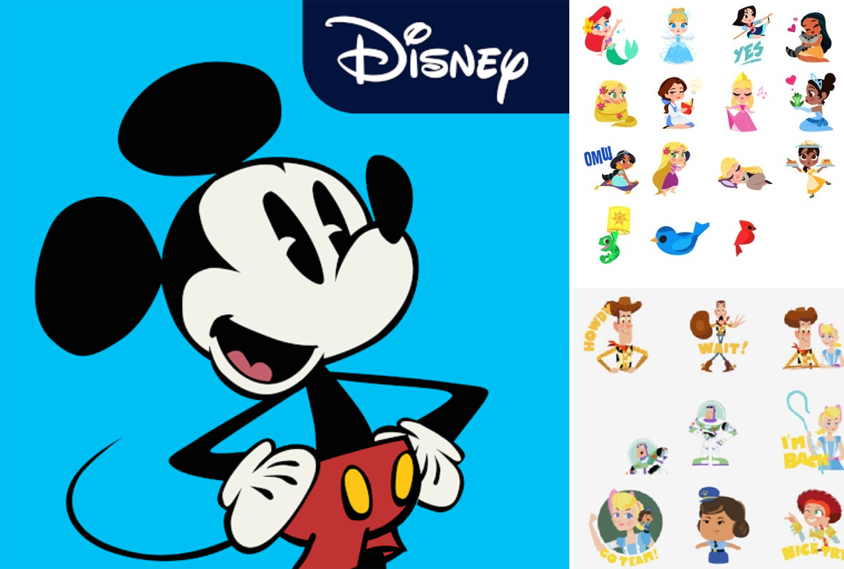 FREE Disney Phone Stickers – Add These Cute Apps Now!