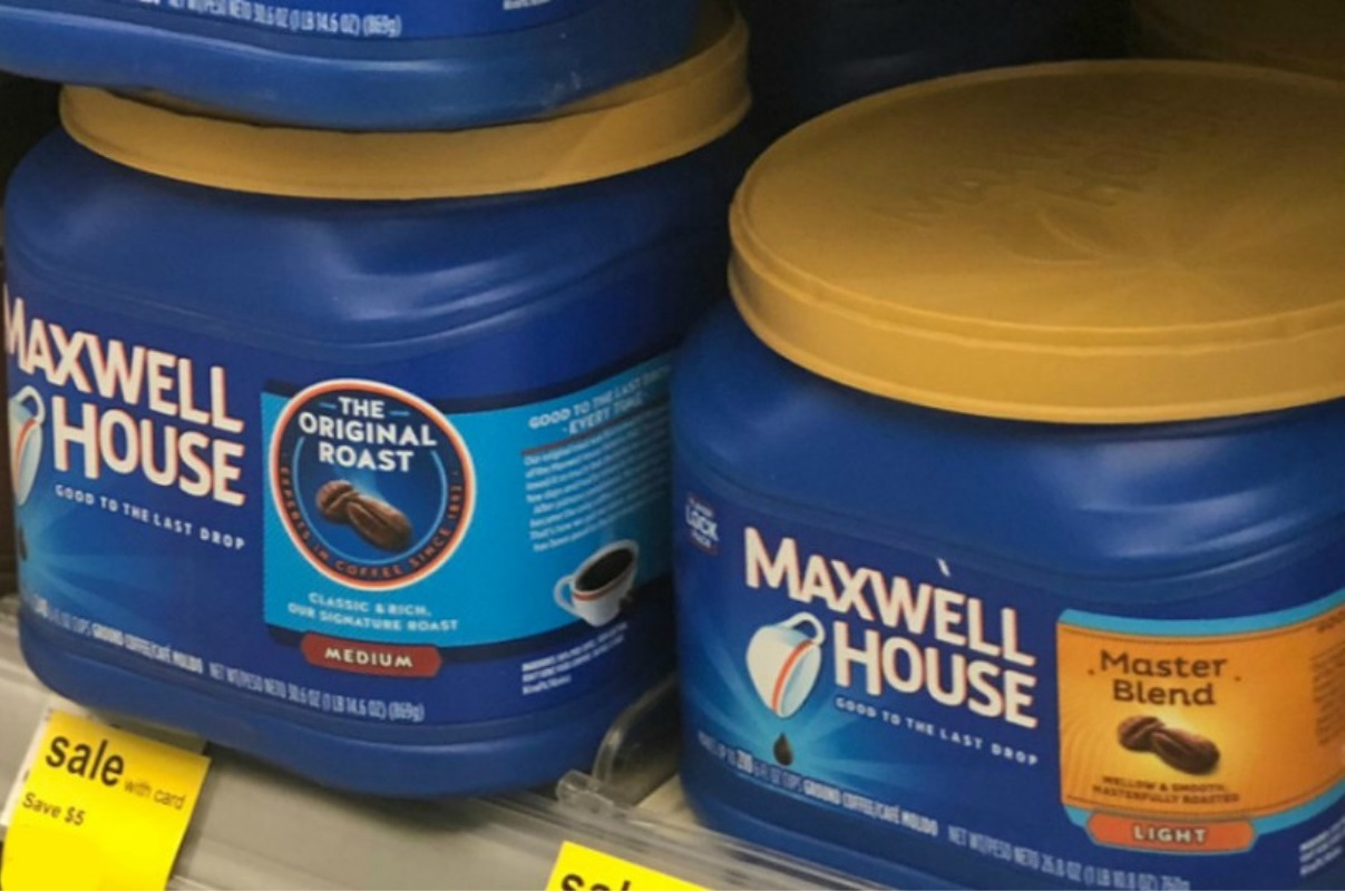 Maxwell House Ground Coffee ONLY $4.99 at Walgreens – Ships FREE (Reg. $11)