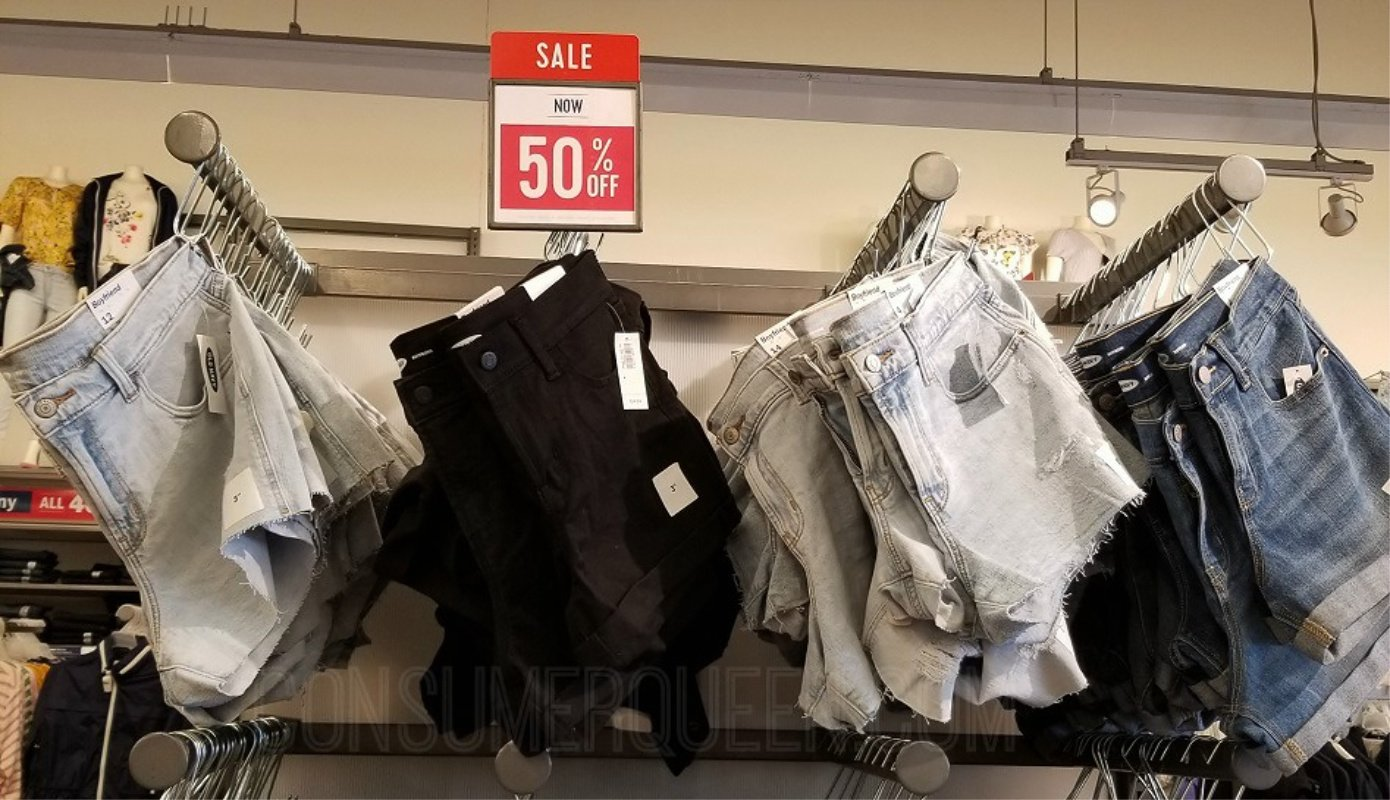 Old Navy Denim Shorts $10 – $12 Today Only  So Don't Miss! *EXPIRED*