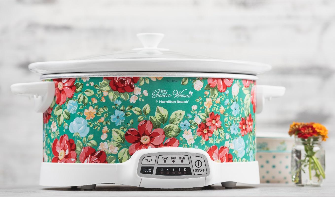 pioneer woman programmable slow cooker