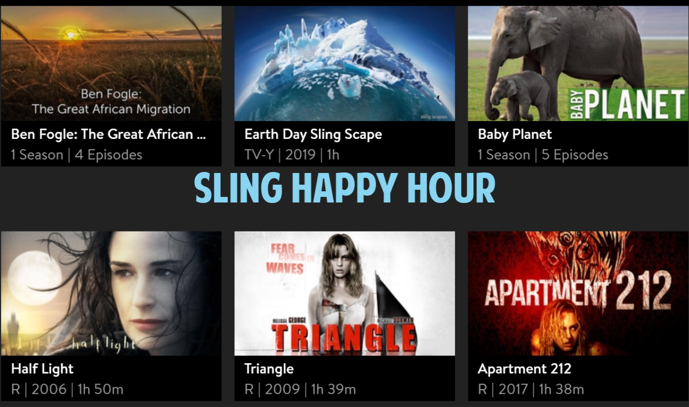 sling happy hour
