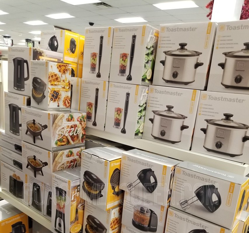 small appliances from toastmaster