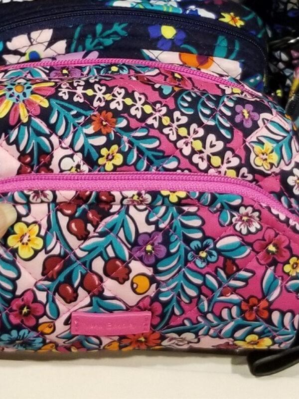 vera bradley wristlets, wallets, cosmetics bags