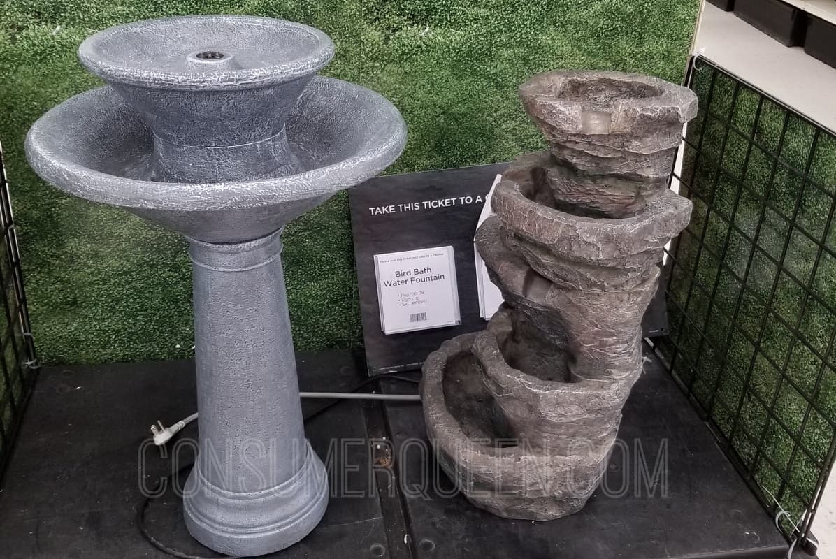 Water Fountains 60% Off at Michael's