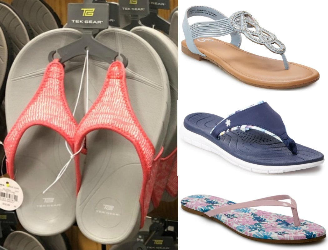 womens sandals 2 for $10