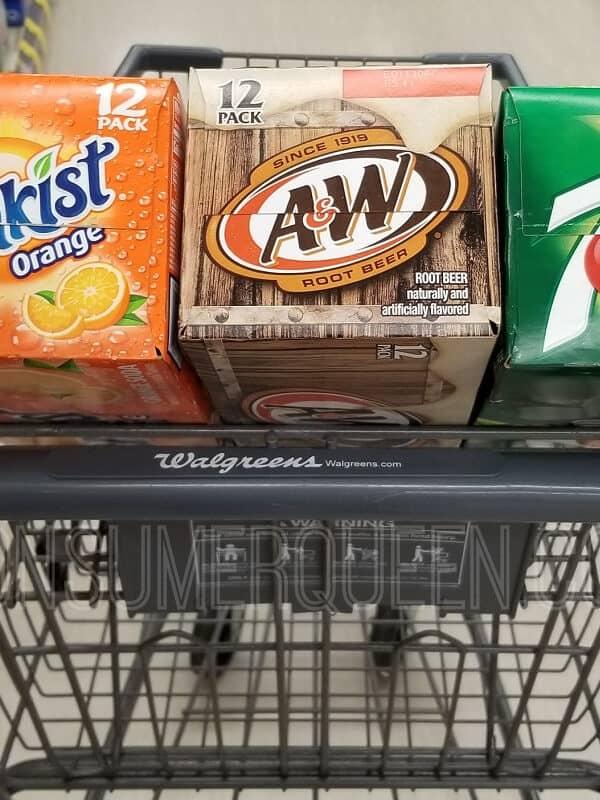 12 Pack 7Up at Walgreens