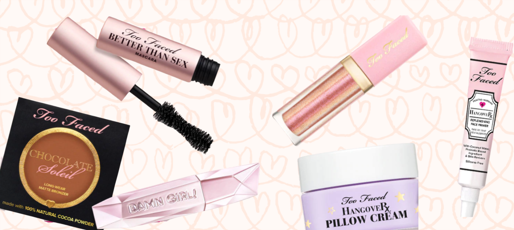 4 FREE Minis at Too Faced With $45 Purchase – Ships FREE!