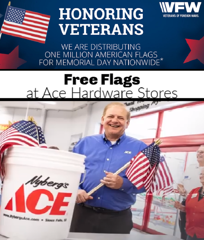 FREE American Flag From Ace Hardware *EXPIRED*