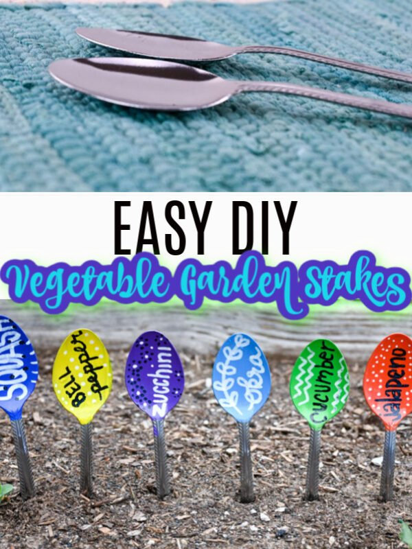 DIY Vegetable Garden Stakes