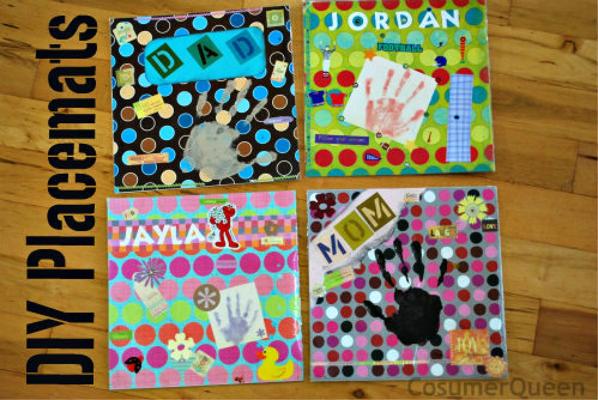 DIY Placemats… Great for Thanksgiving Dinner!